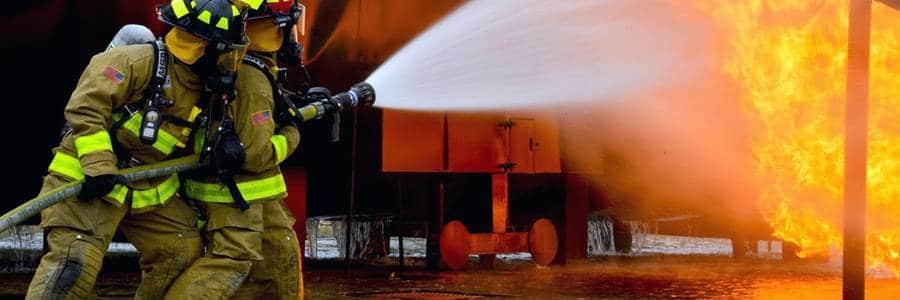 Транспортни контейнери - пожар