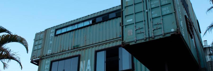 Транспортни контейнери за жилища